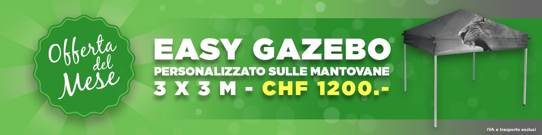 Offerta del mese gazebo italiano